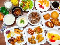 朝食バイキング一例 ご利用時間(6:30~9:30)