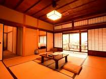 西書院特別室B(18畳+洗面所+トイレ)空調・Wi-Fi付一例