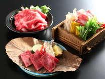 信州牛を使ったメイン料理