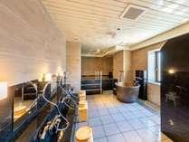 リニュ-アルした共同浴室です