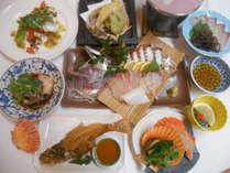 夕食お料理例(季節により変わります)