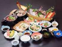 *夕食(漁火膳) 船盛りは2名様〜ご用意致します。