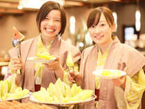 和食、洋食、中華が一度に楽しめる充実の和洋中旬彩バイキング!