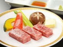 【追加料理プラン】岩手が誇るブランド牛!前沢牛陶板焼付きプランイメージ