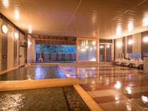 【ホテル花巻 花巻の湯】ご宿泊のお客様はホテル3館の湯めぐりをお楽しみいただけます。