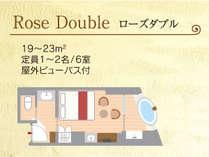 【間取り】ローズダブル