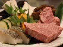 ≪鉄板焼きコース≫シェフが目の前で調理する…特別な食事にグレードUP♪