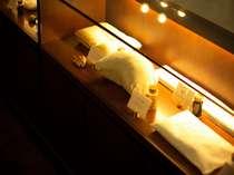 エグゼクティブフロア限定サービス。8種類の枕よりお好みの枕が選択可。(デラックスツイン対応)
