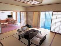■スタンダード和室 リビング付き<12.5畳+16.3平米>