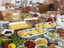【じゃらん限定☆ポイント10%】渥美の新鮮野菜や地魚の干物★朝食バイキング■1泊朝食プラン