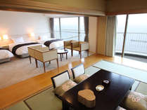 ■デラックス和洋室<7.5畳+3ベット>
