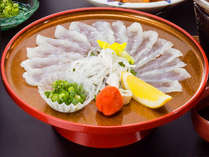ふぐのにぎり寿司や定番のふぐのお造りなどふぐを満喫!「ふぐ会席」プラン◇10月~2月