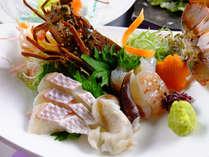 <9~11月 四季会席>新鮮な地魚に伊勢海老の姿造里