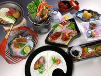 ◇<12~2月 四季会席>季節の前菜に渥美の新鮮な地魚に贅沢な伊勢海老の姿造里をご満喫ください。