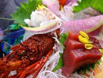 <12~2月 四季会席>渥美の新鮮な地魚に伊勢海老姿造里