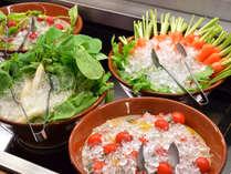 ≪朝食バイキング≫地元の美味しさを存分に味わってください。