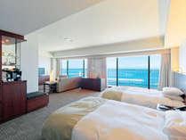 ◆ファミリースイート(66平米/エグゼクティブフロア)広さと機能性を兼ね備えたお部屋です。