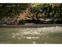2015/12/1森林をイメージした癒しの内風呂に♪