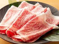 しゃぶしゃぶ、すき焼きにはA5特選和牛を使用