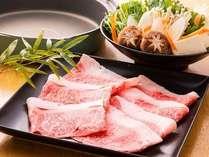 熊本県産ブランド和牛の「しゃぶしゃぶ」