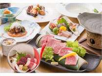 A4ランク以上の熊本県産ブランド牛の陶板焼き