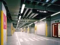 B1F、B2Fの駐車場と直結