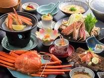 【週末限定】大満足のカニフルコース!香住ガニ(400g以上)1杯付【蟹会席】