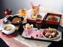 【春限定】桜彩り御膳とクラブフロアで過ごす瀬戸内旅