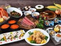 北海道の幸を楽しめる和洋中食べ放題♪【2020年秋】(※イメージ)