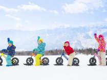 【アクティビティ】スノーストライダーに挑戦!