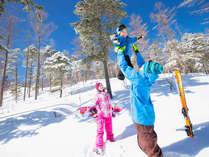 スキー&スノボやウェアレンタルが無料!無料送迎バスで楽々スキーデビュー!