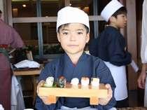 【寿司職人体験】和食の職人さんと一緒にお寿司作りに挑戦!パパ・ママに自慢しちゃおう♪
