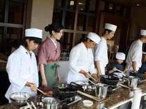 【天ぷら職人体験】和食の職人さんと一緒に天ぷら作り!パパとママをびっくりさせちゃおう!