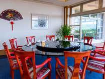 【中華レストラン「龍宮」】宴会やちょっとした会食にも人気の個室からは、表情豊かな景色が愉しめます。