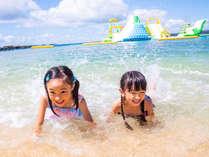 【カヌチャビーチ】3/28海開き!わんぱくキッズも大満足!ドキドキわくわくの体験が満載!