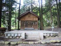 阿智神社~奥宮~神様が降りてきたと言われている磐座(いわくら)があります。