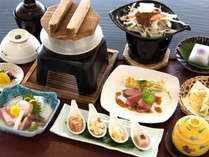 【良寛会席(2014年一例)】四季折々の瀬戸内の恵みをぜいたくに。料理人自慢の逸品です。
