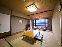【東館和室】琵琶湖を望むトイレ付10畳和室
