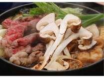 【東館】超贅沢!!近江牛&松茸すきやき食べ放題プラン