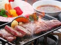 ふるさと割クーポンでお得に!近江牛すきやきセットのお土産付き!近江牛ビッグステーキコース(ロース)