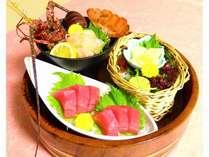 【春の味覚会席】伊勢海老 マグロ 貝柱(お料理一例)