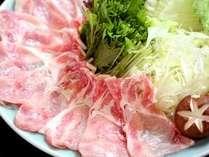 ■料理■旨さにこだわった上州豚『とことん』のしゃぶしゃぶ。作り手自慢の野菜と一緒に♪