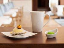 風待ちテラスの本日のケーキセット ※イメージ