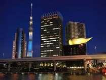 隅田川からのSKYTREE(R)