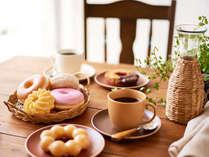 ミスドの朝食♪ モーニングセットは2種類からお選びいただけます◎