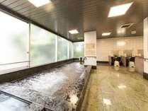 大浴場(炭酸カルシウムを添加した人工温泉です。ご利用時間/夜16:00~24:00、朝6:00~8:00)