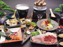 松コース:大満足、贅沢なラインナップ!当館のスタンダード懐石で御座います。