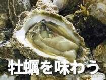 【牡蠣】広島グルメ★季節の味覚ご堪能♪かき付プラン