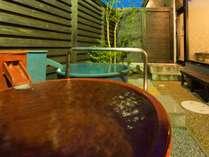 ◆天然ラドン温泉の露天風呂「つぼ湯」もご堪能ください。