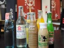 ◆うら湯:昔懐かしいラムネや地元の飲み物まであります。